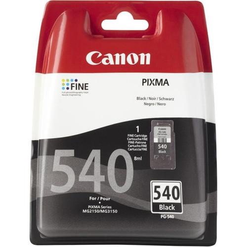 Canon Pg-540 Original Black Ink Cartridge (5525b005aa)