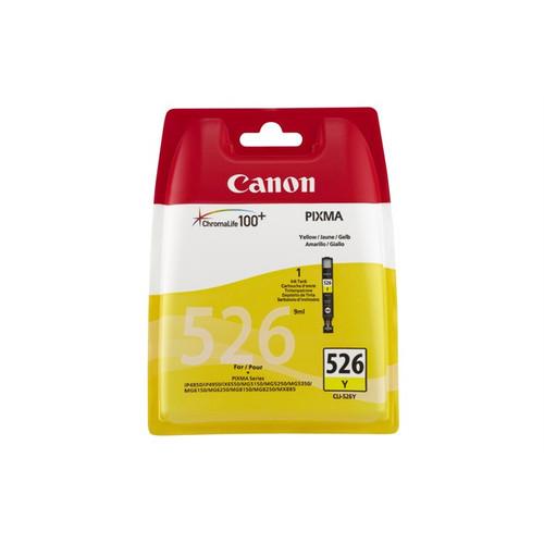Canon Cli-526y Original Yellow Ink Cartridge  (4543b001)
