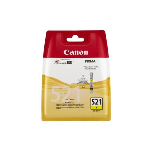Canon Cli-521y Original Yellow Ink Cartridge (2936b001aa)