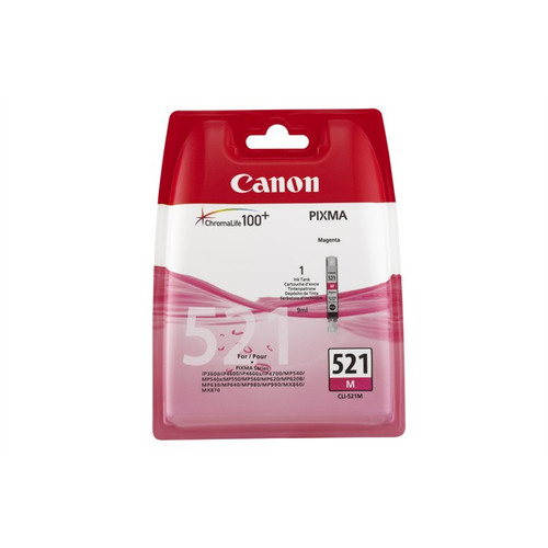 Canon Cli-521m Original Magenta Ink Cartridge (2935b001aa)