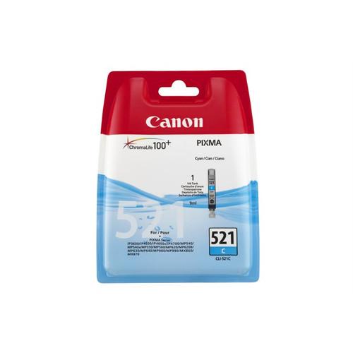 Canon Cli-521c Original Cyan Ink Cartridge (2934b001aa)