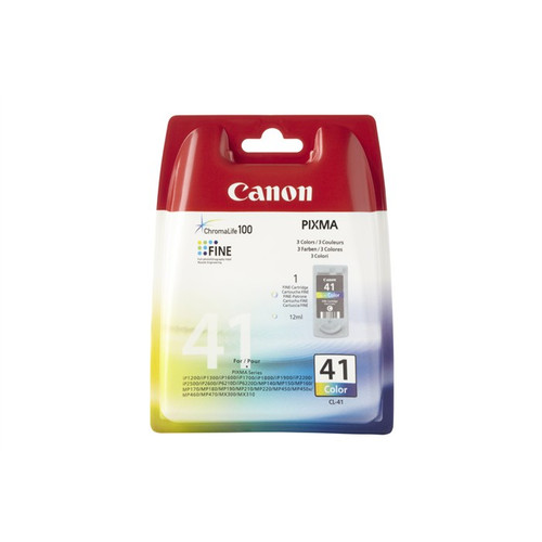 Canon Cl-41 Original Tri-colour Ink Cartridge (0617b001)