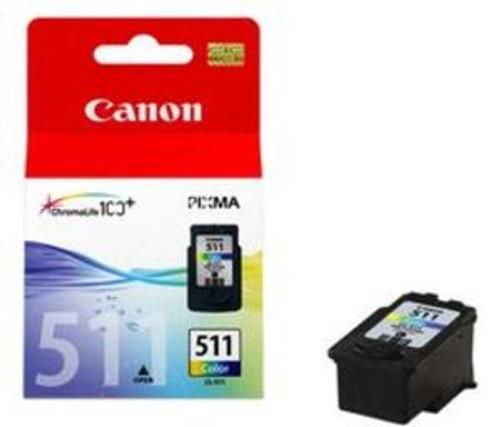 Canon Cl-511 Original Tri-colour Ink Cartridge  (2972b001aa)