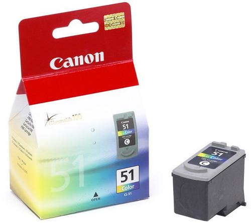 Canon Cl-51 Original  Tri-colour Ink Cartridge (0618b001)