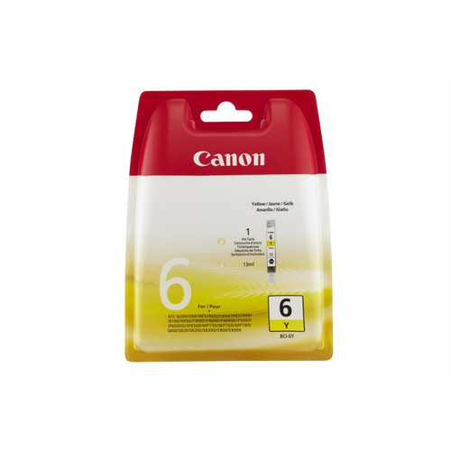 Canon Bci-6y Original  Yellow Ink Cartridge (4708a002)