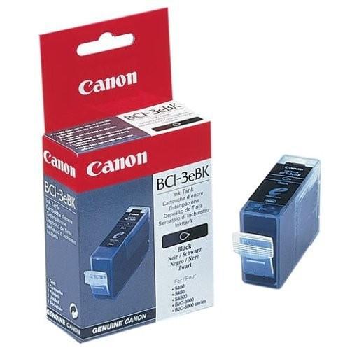 Canon Bci-3ebk Original  Black Ink Cartridge (4479a002)