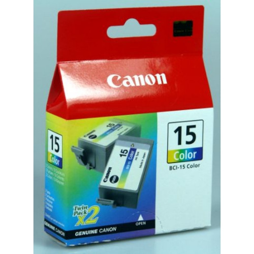 Canon Bci-15c Original Tri-colour Ink Cartridge (8191a002aa)