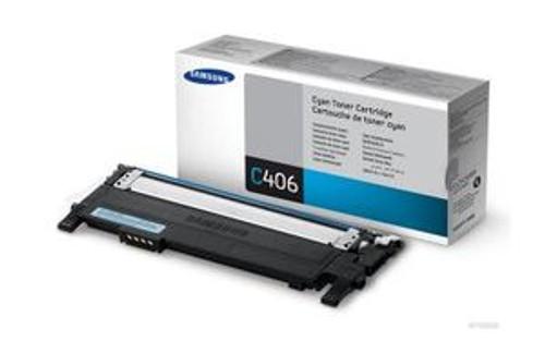 Samsung Clt-c406s Original Cyan Toner Cartridge (Clt-c406s/els)