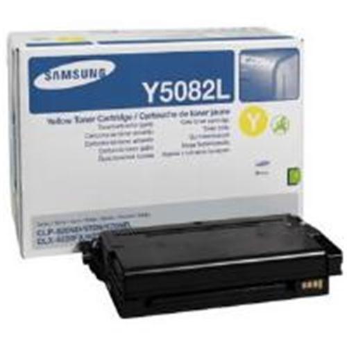 High Capacity Samsung Clty5082l Original Yellow Toner Cartridge  (Clt-y5082l Laser Printer Cartridge)