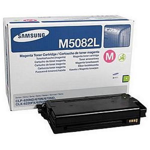 High Capacity Samsung Cltm5082l Original  Magenta Toner Cartridge (Clt-m5082l Laser Printer Cartridge)