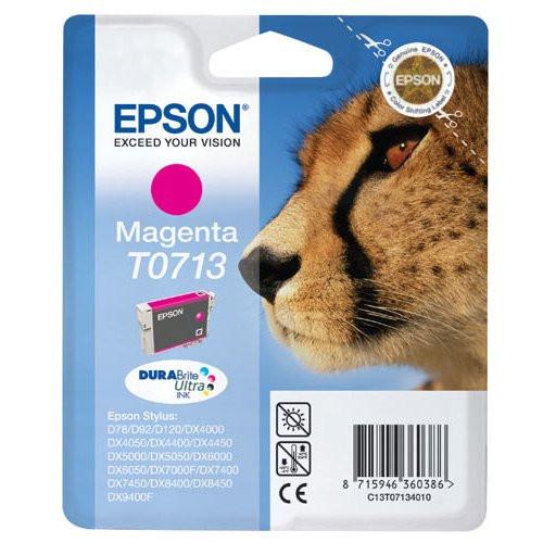 Epson T0713 Original Magenta Ink Cartridge (C13t07134010)