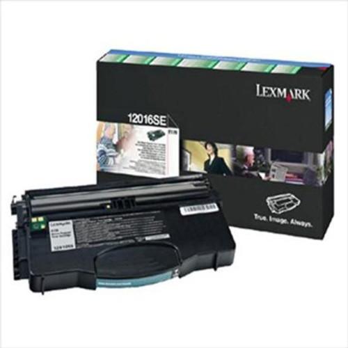 Lexmark 12016se Original Black Toner Cartridge (Lexmark 0012016se Laser Printer Cartridge)
