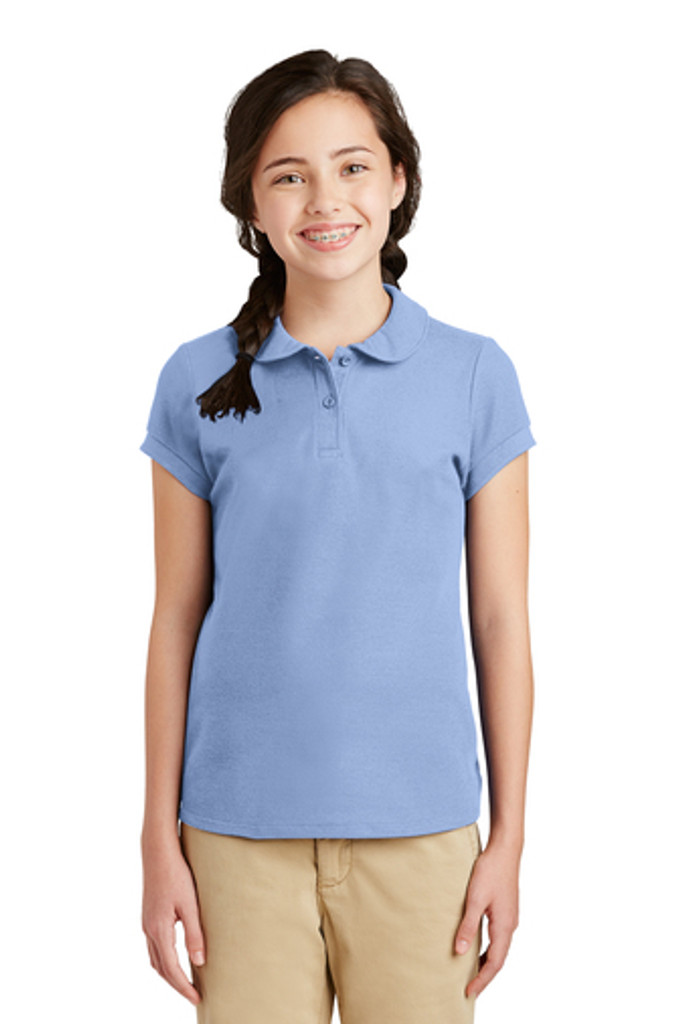 Girls School Uniform Polo