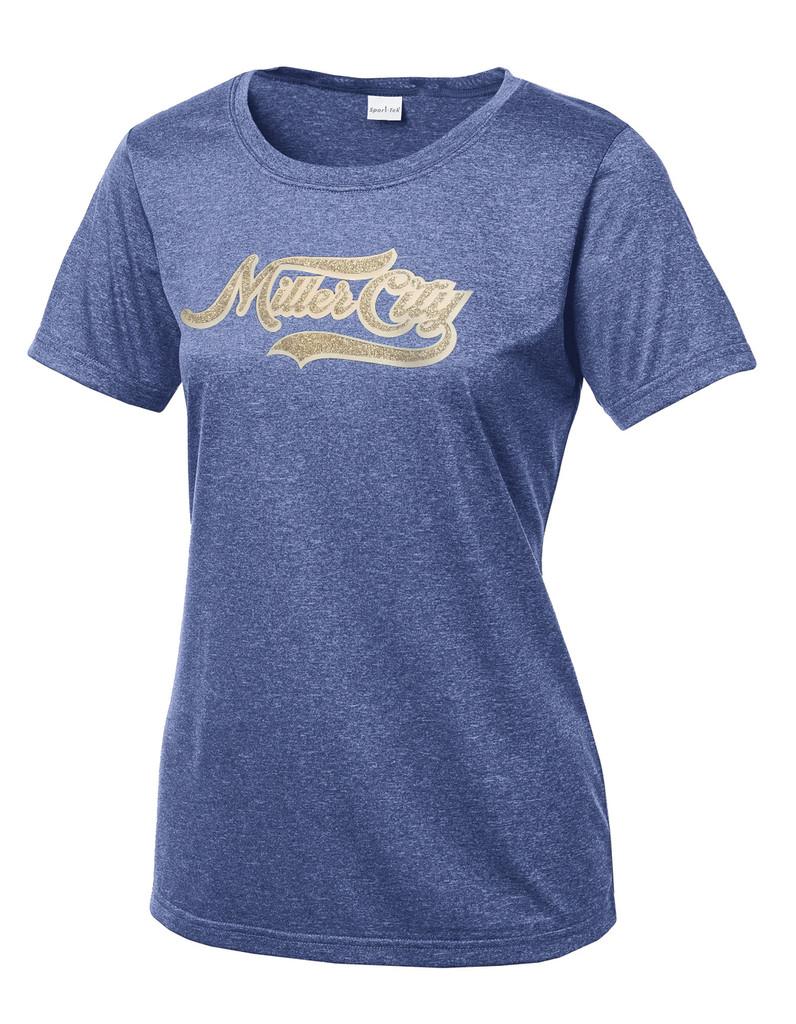 Miller City Wildcats Ladies Dri-Fit T-shirt