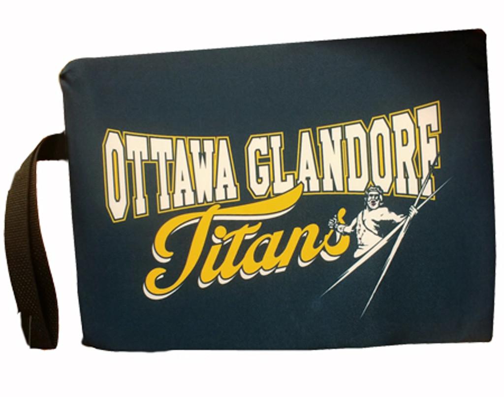 Ottawa-Glandorf Titans game seat cushion