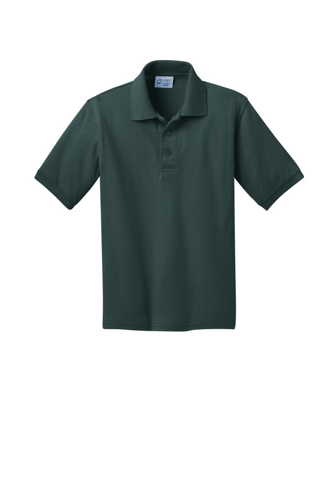 KP55Y Port & Company® Youth Core Blend Jersey Knit Polo