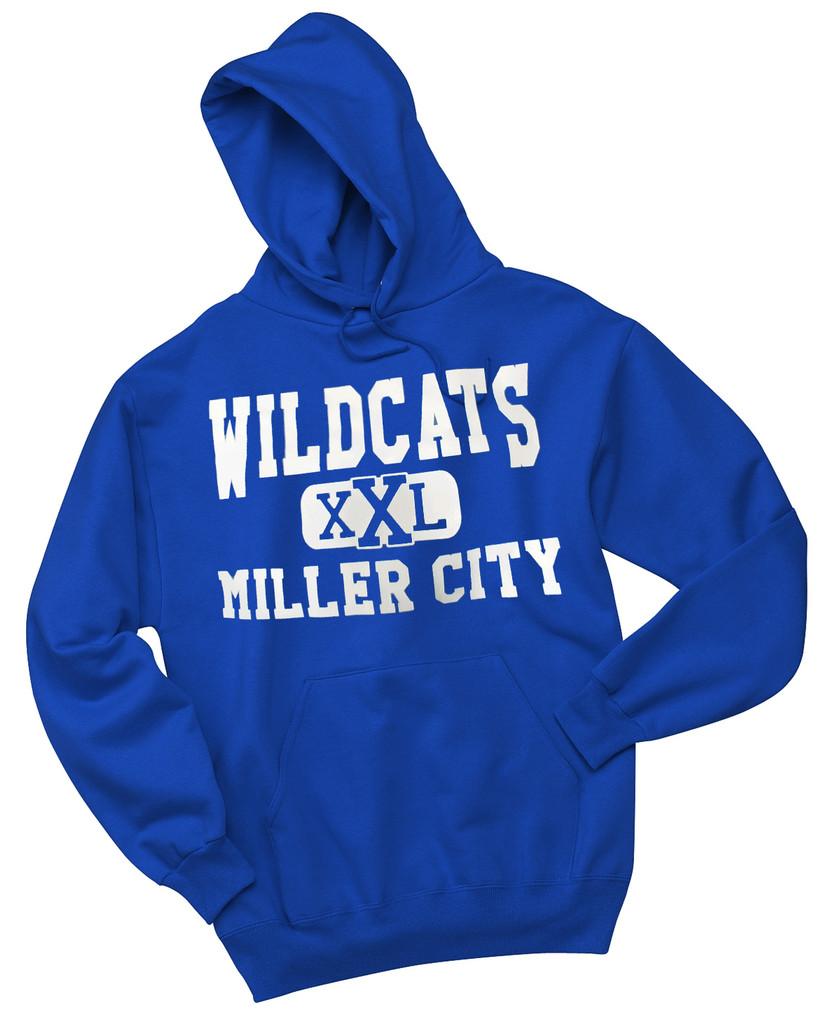 Miller City Hoodie - Jerzees NuBlend® Pullover Hooded Sweatshirt