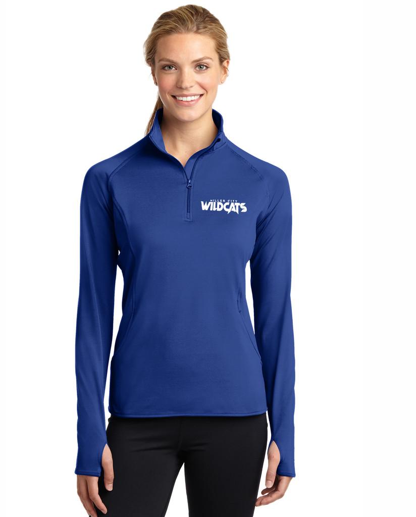 Miller City LST850 Sport-Tek® Ladies Sport-Wick® Stretch 1/2-Zip Pullover