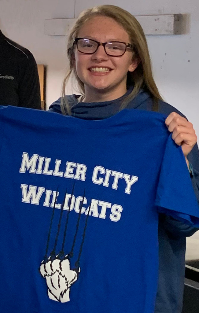 Hallie Kamphaus Miller City T-shirt Design Contest winner