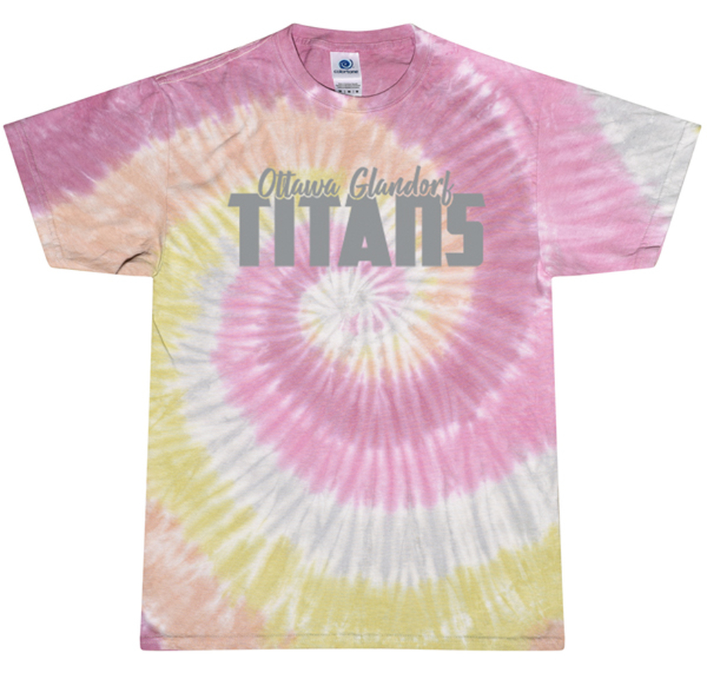 CD100  O-G Tie-Dye T-Shirt