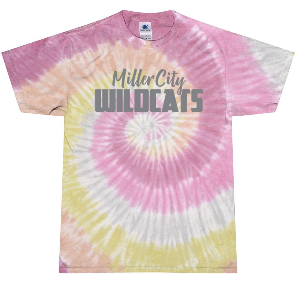 CD100  Miller City Tie-Dye T-Shirt