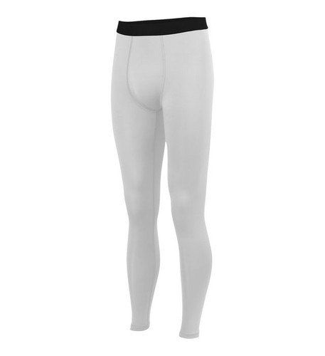 White HYPERFORM COMPRESSION TIGHT