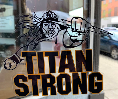 Titan Strong Window Cling