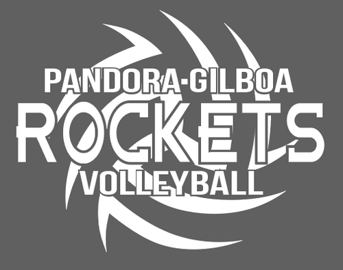 PG Volleyball Window Cling