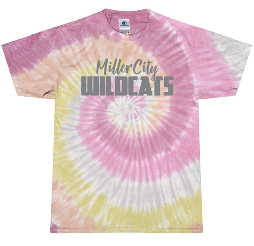CD100  Miller City Tie-Dye T-Shirt
