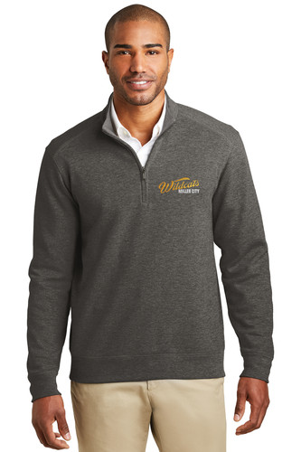K807 Miller City Port Authority® Interlock 1/4-Zip