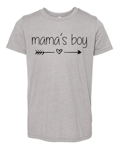 """BC3413Y """"Momma & Me Collection"""" BELLA+CANVAS ® Youth Triblend Short Sleeve Tee"""