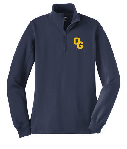O-G Band LST253 Sport-Tek® Ladies 1/4-Zip Sweatshirt
