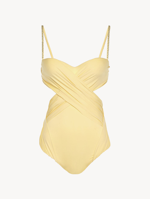 Swimsuit in yellow