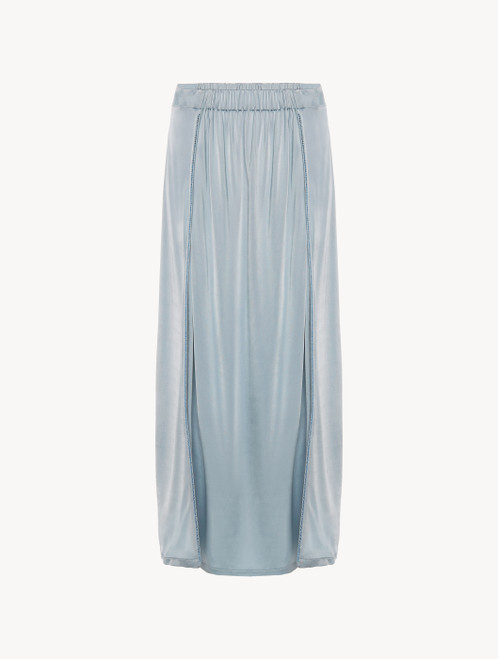 Sarong in azure blue