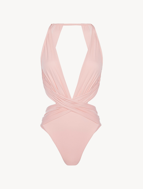 Swimsuit in rose pink