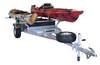MegaSport 2 Kayak Trailer Pkg (Spare Tire, 2 Sets Saddle Up Pro, Storage Basket & Drawer) (MPG550-U)