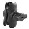 "RAM Mount Composite Short Double Socket Arm f\/1"" Ball [RAP-B-201U-A]"