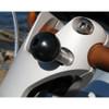 RAM Mount Motorcycle Handlebar Clamp Base w\/M8 Screws [RAM-B-367U]