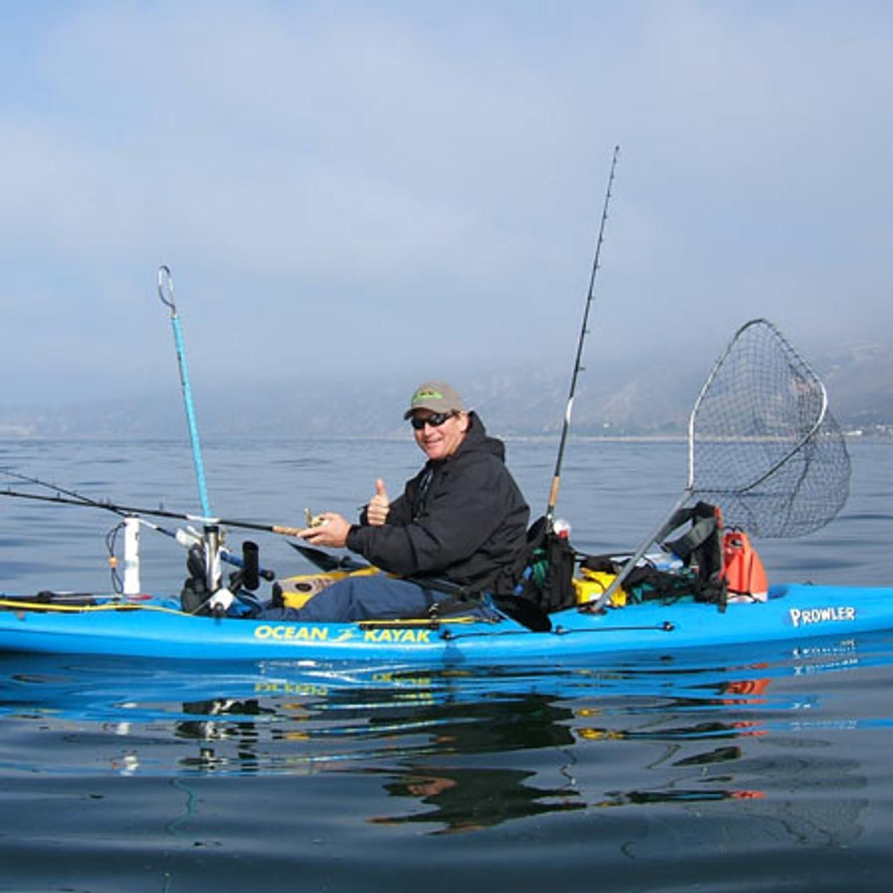 Tall Back Fishing Molded Foam Kayak Seat
