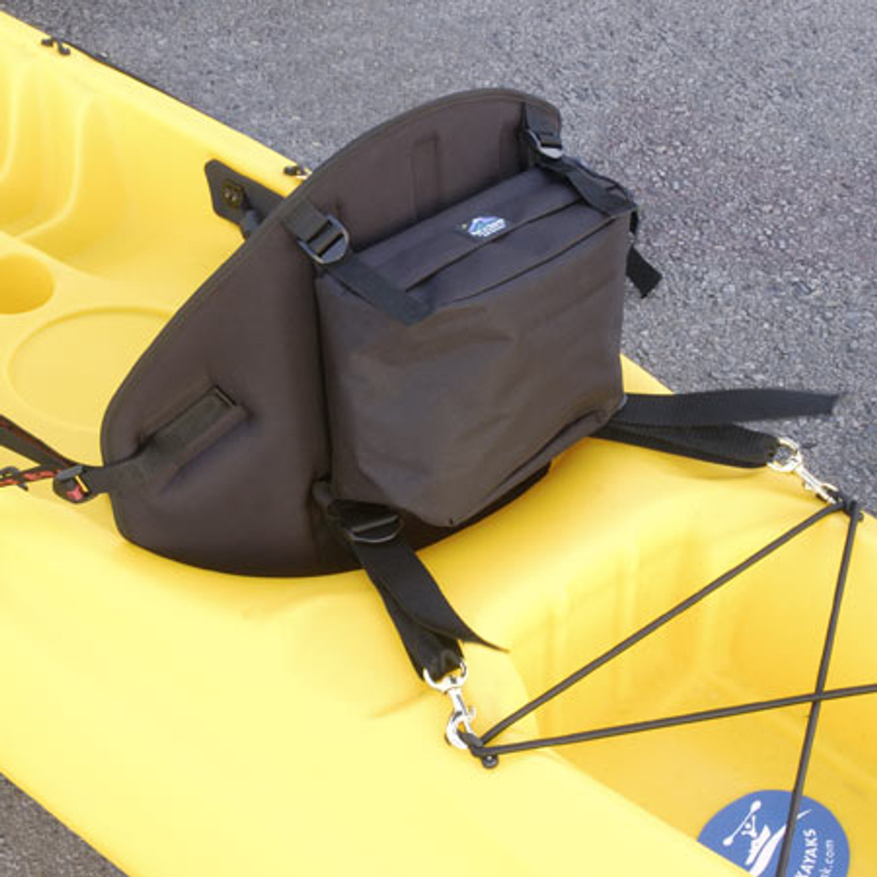 Tall Back Classic Molded Foam Kayak Seat w/Pack