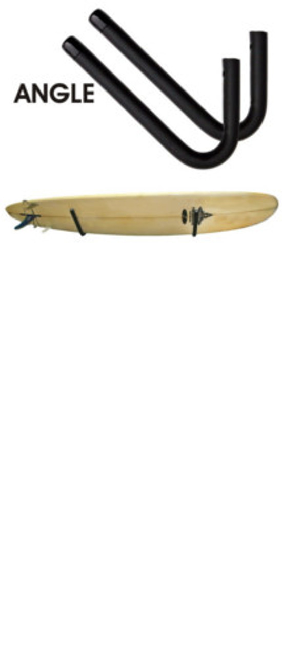 SUP/LONGBOARD SURFBOARDS ANGLED WALL RACK