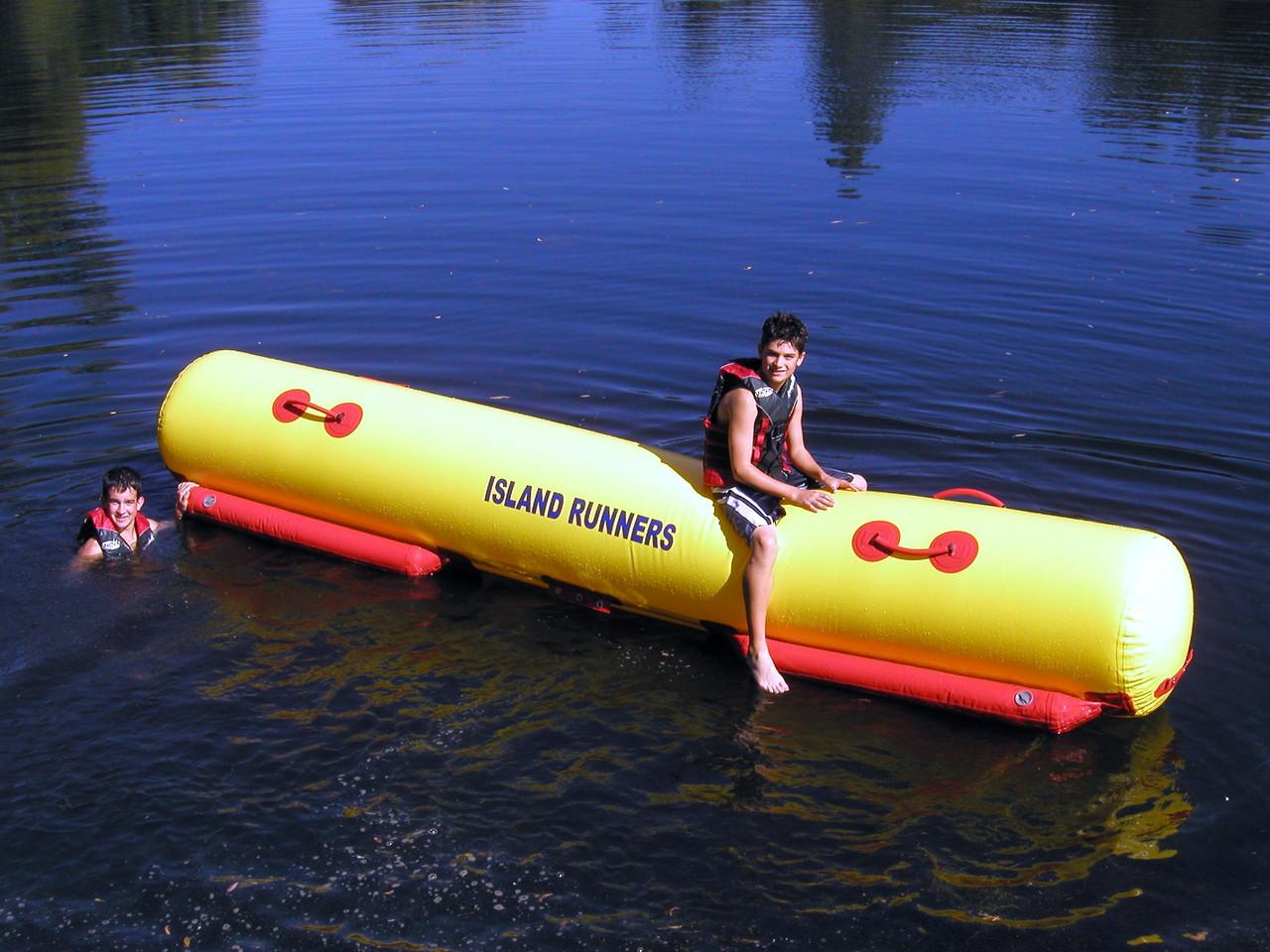 the Island Hopper Island Runner Attachment