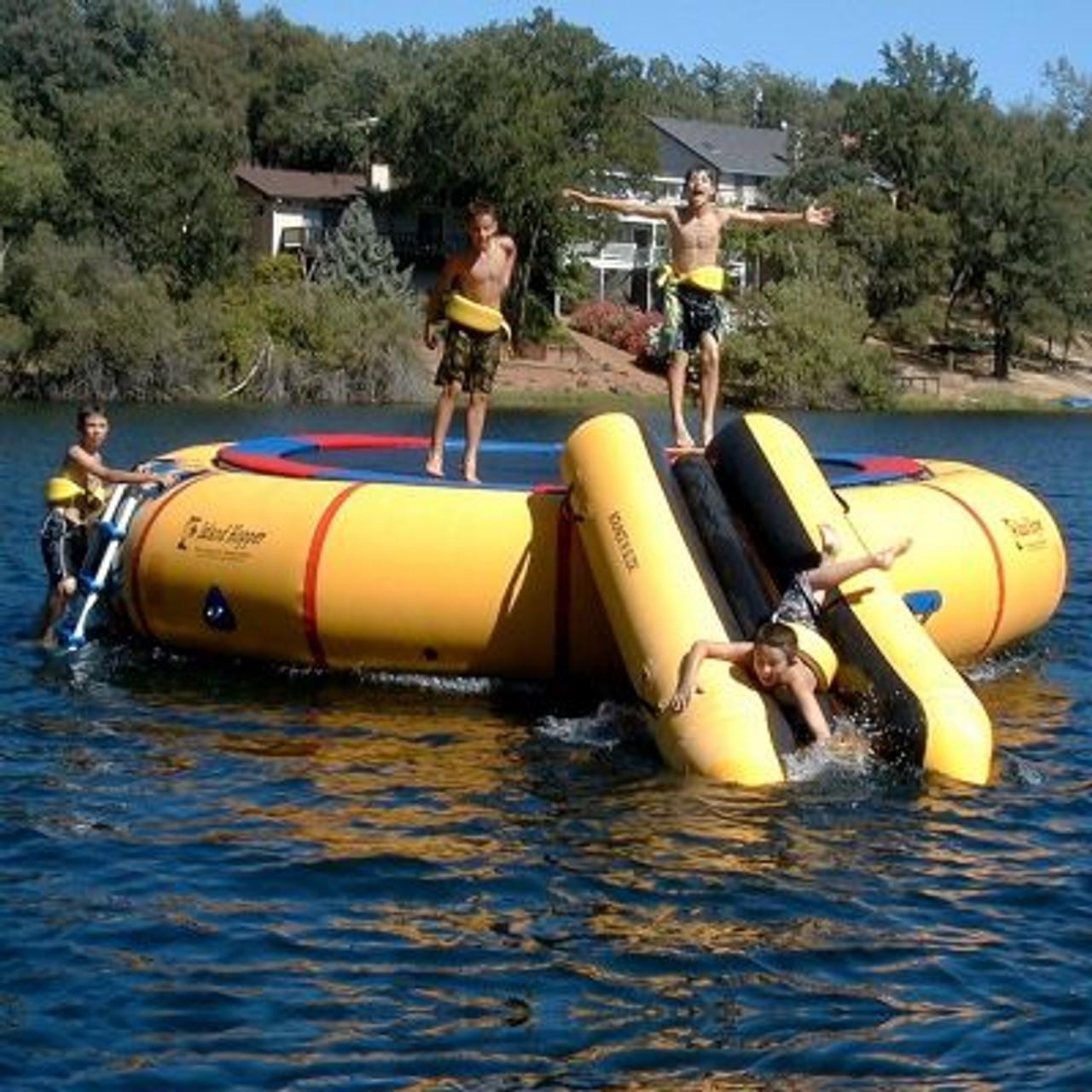 The Island Hopper Bounce N Slide Attachment