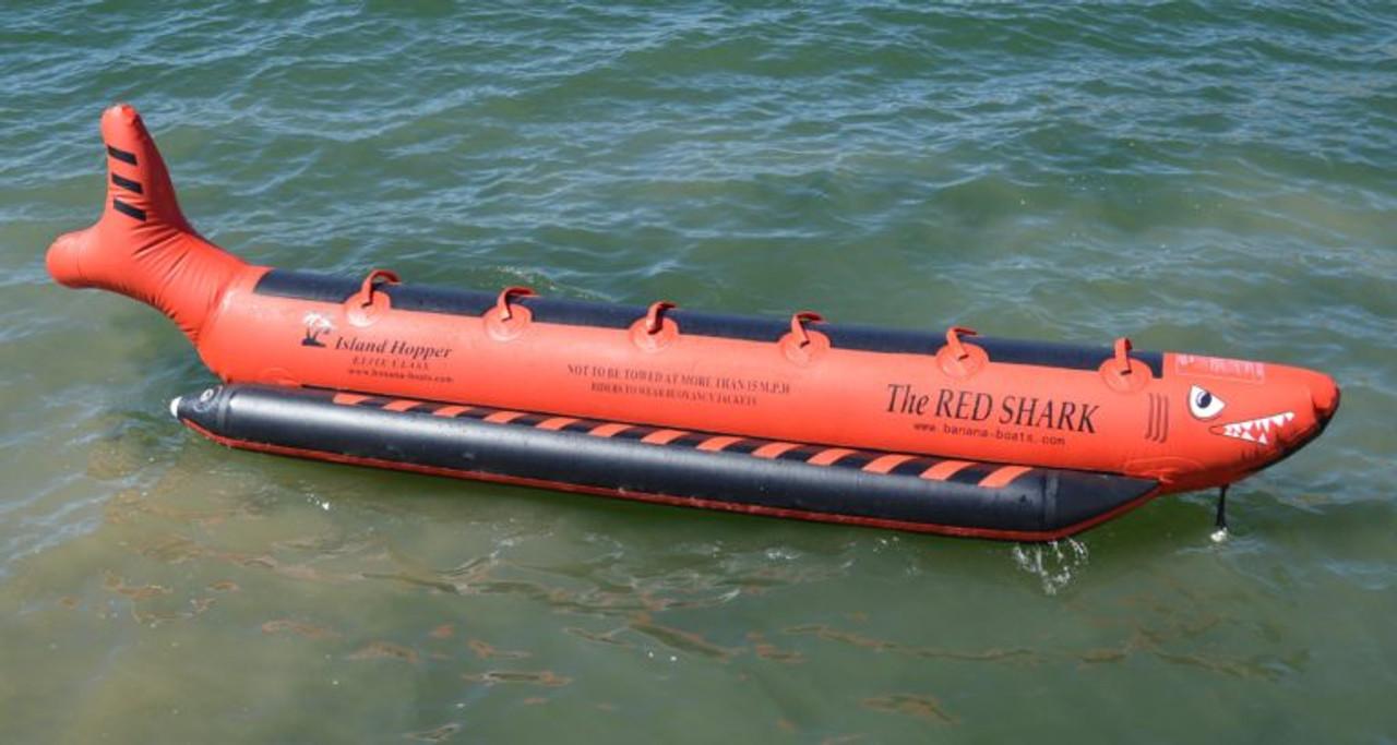 Red Shark 6 Passenger Commercial Sled 19'ft in-line seates
