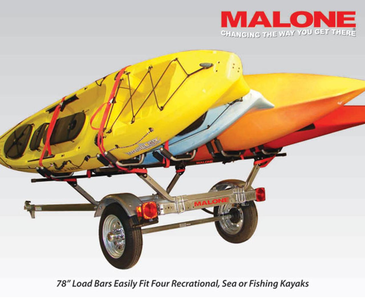 MicroSport Trailer Four Kayak Package MPG462G2