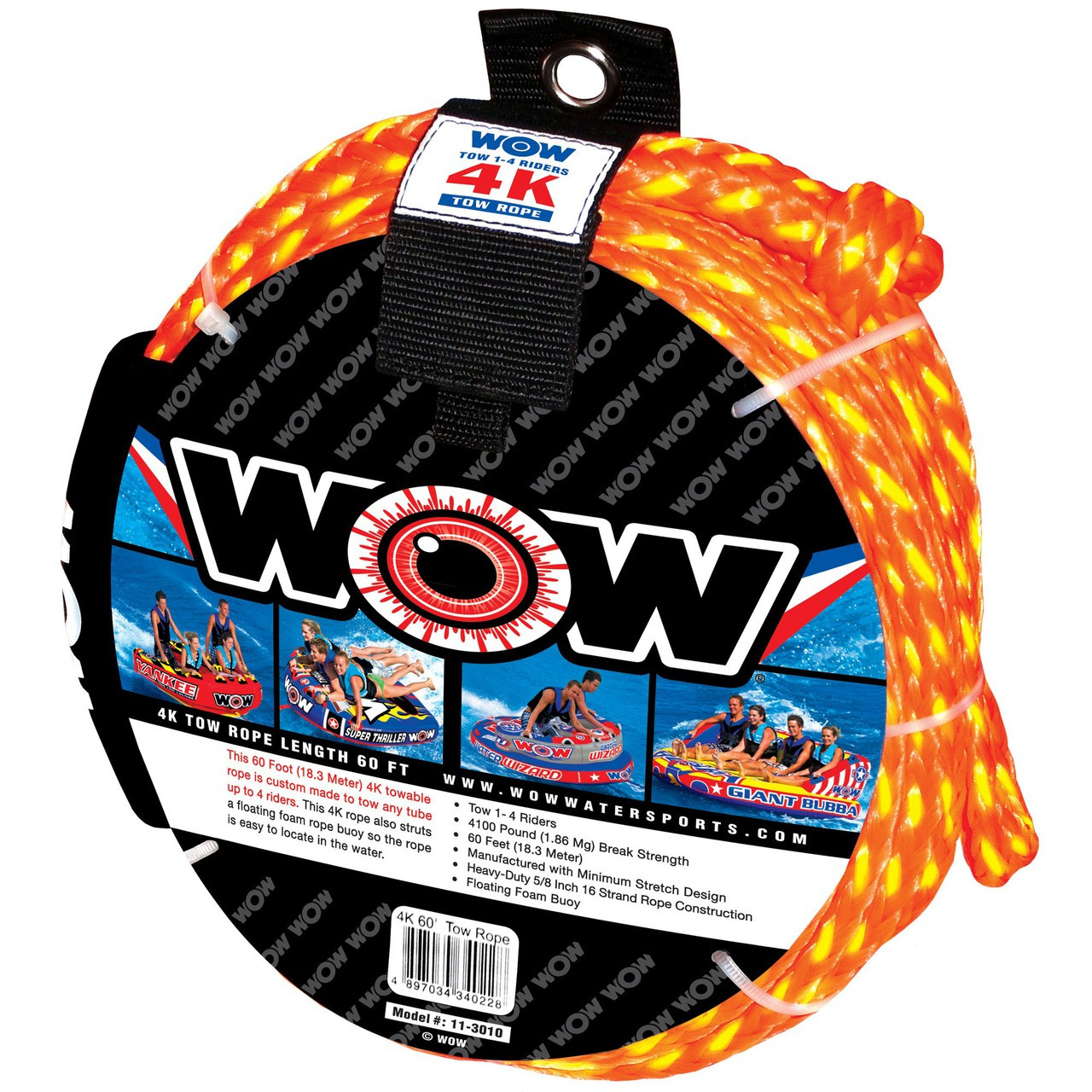WOW 4K 60' Tow Rope