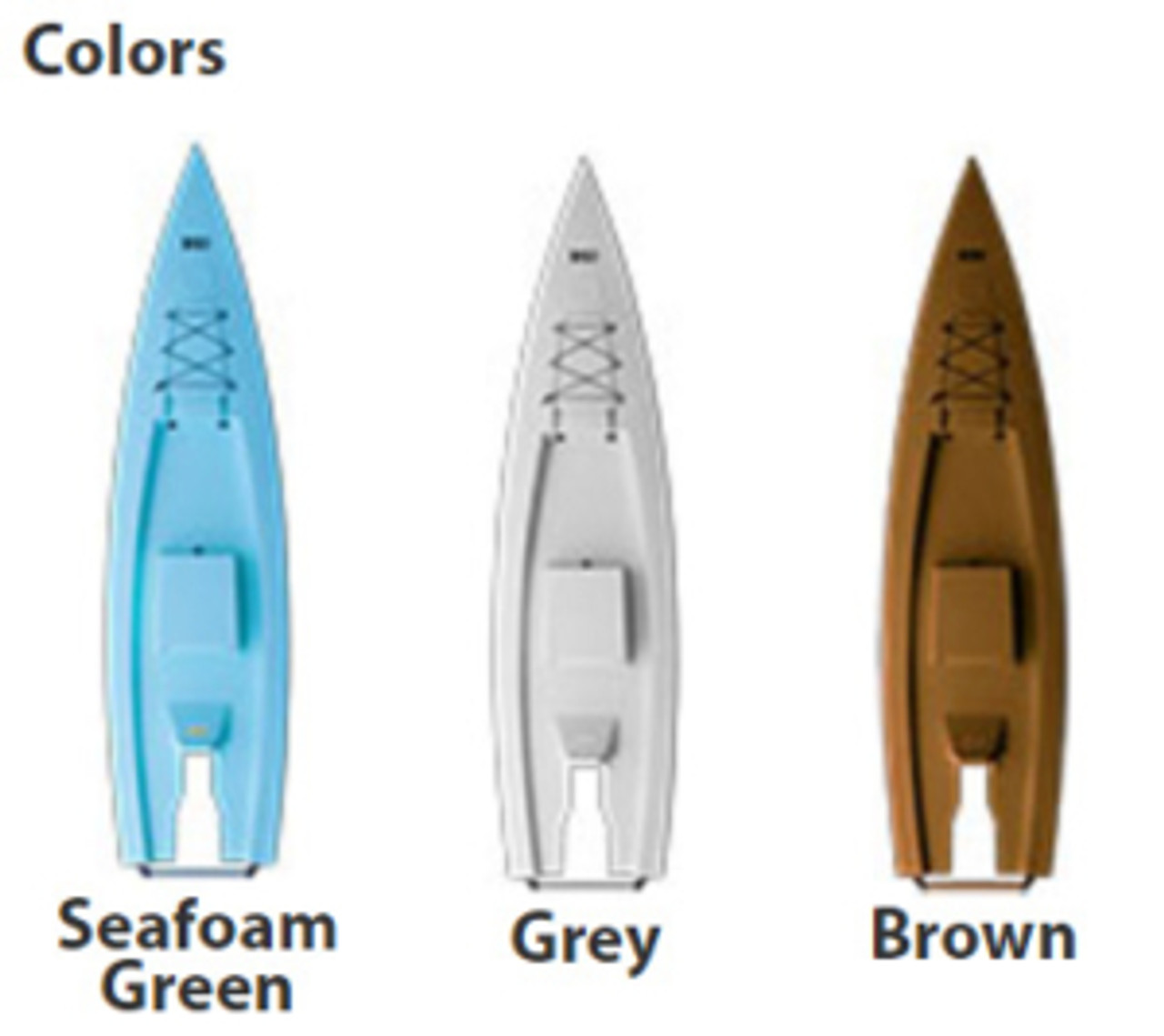 Solo Skiff Colors