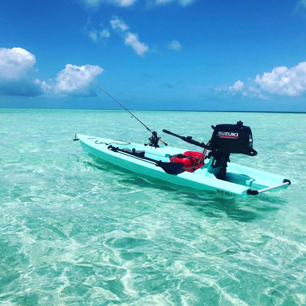 Solo Skiff Seafoam
