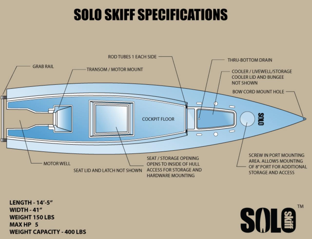 Solo Skiff