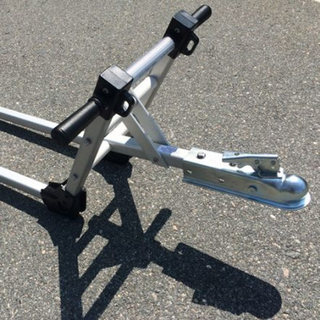 Double Tongue Trailer  Hitch Adapter
